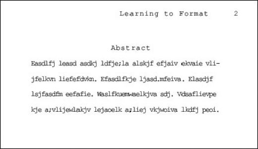 How to write an abstract for your dissertation do you