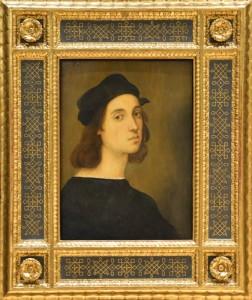 Raphael Uffizi in Frame