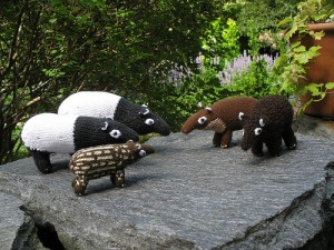 Knitted animals in group symbolising story telling. Image from: http://www.flickr.com/photos/sasha_kopf/3811949321/in/photostream/